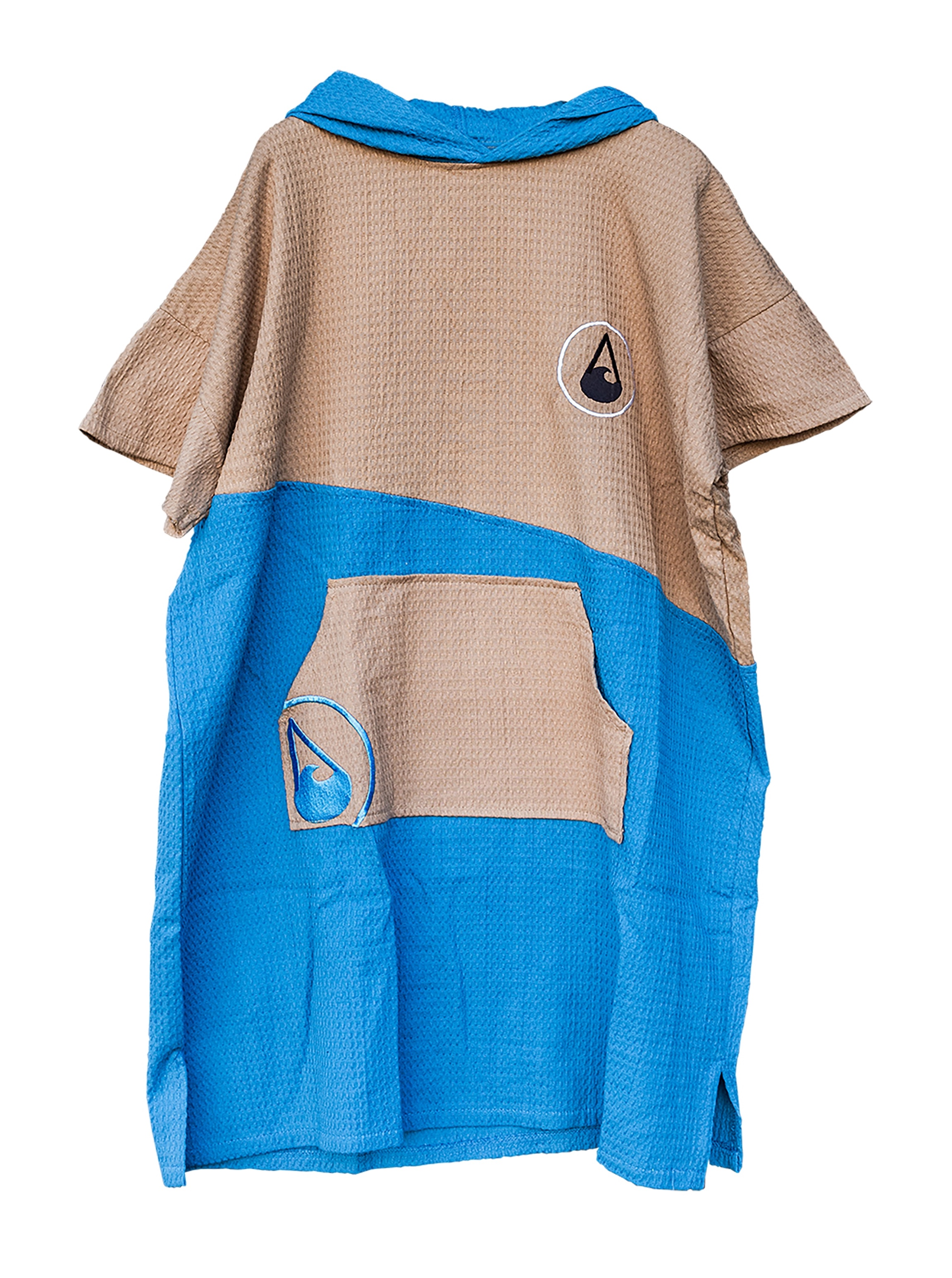 Wave Hawaii Travel Poncho LIGHD Badeponcho large Men Farbe: blue Größe: OSFA